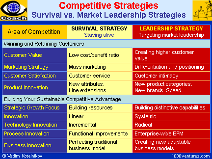 Sustainable Competitive Advantage: Definition, Concept & Examples